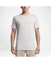 Hurley - Gray Tri-blend Staple T-shirt for Men - Lyst