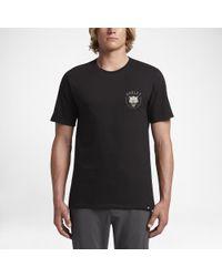 Hurley Black Wolf T-shirt for men