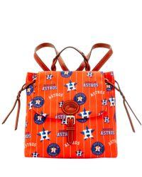 Dooney & Bourke | Red Mlb Astros Flap Backpack | Lyst