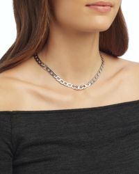 Vita Fede - Metallic Milos Mini Chain Link Necklace - Lyst