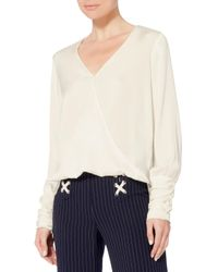 Exclusive For Intermix | White Gianna Cross Front Top | Lyst