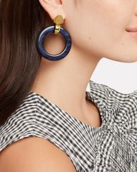 Lizzie Fortunato - Blue Multicolored Hoops - Lyst