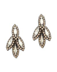 Elizabeth Cole | Multicolor Petite Bacall Earrings | Lyst