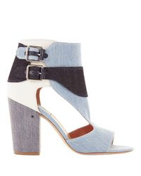 4a94c2f2944 Lyst - Laurence Dacade Rush Multi High Heel Sandals in Blue