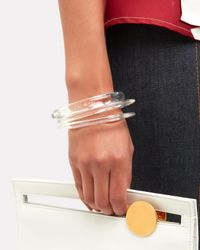 Pono - Multicolor Lucite Bangle Set - Lyst