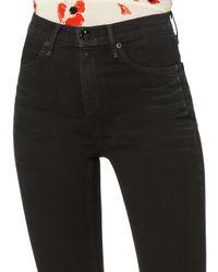 Rag & Bone - Bella Black Flare Jeans - Lyst