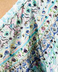 Camilla Blue Lovers Retreat Frill Dress