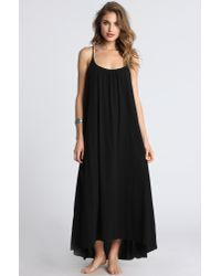 9seed | Black Portofino Cover Up Dress | Lyst