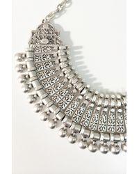 Natalie B. Jewelry - Metallic Lucky Princess Statement Bib - Lyst