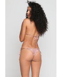 Indah | Multicolor *ishine Exclusive* Peach Bikini Bottom | Lyst