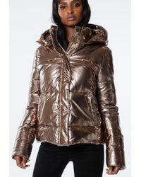 Ivyrevel - Metallic Sharp Jacket Gold - Lyst
