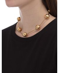J.W. Anderson - Metallic Gold Spheres Necklace - Lyst