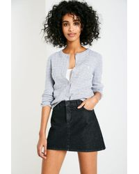Jack Wills - Gray Holywell Cable Cardigan - Lyst