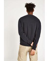 Jack Wills - Black Belvue Crew Sweatshirt for Men - Lyst