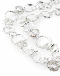 Jaeger - Multicolor Melissa Metal And Crystal Loop Long Necklace - Lyst