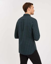 Jaeger - Green Check Casual Shirt for Men - Lyst