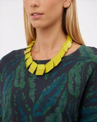 Jaeger | Yellow Renee Resin Cube Necklace | Lyst