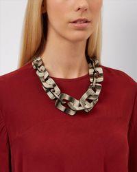 Jaeger | Multicolor Ariel Resin Link Necklace | Lyst