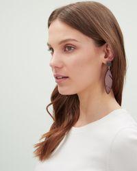 Jaeger - Multicolor Heidi Cheeseplant Earrings - Lyst