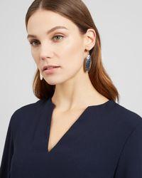 Jaeger - Multicolor Amanda Oval Earring - Lyst