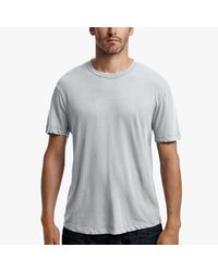 James Perse - Blue Clear Jersey Crew for Men - Lyst