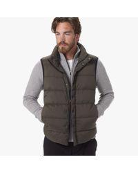James Perse | Green Yosemite Matte Nylon Puffer Vest for Men | Lyst