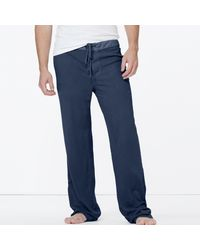 James Perse | Blue Jersey Pajama Pant for Men | Lyst