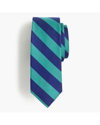 J.Crew | Multicolor Silk Repp Striped Tie for Men | Lyst