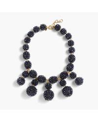 J.Crew - Blue Blackberry Necklace - Lyst