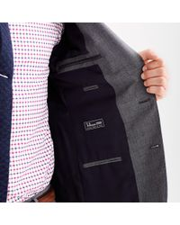 J.Crew - Gray The Ludlow Suit In Italian Worsted Wool for Men - Lyst