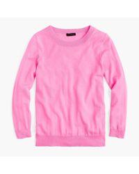 J.Crew - Pink Tippi Sweater - Lyst