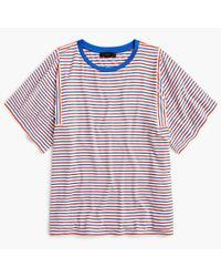 J.Crew - Multicolor Mixed Stripe T-shirt - Lyst