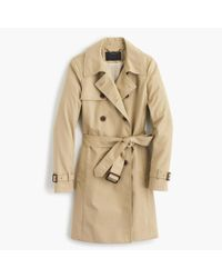 J.Crew - Natural Icon Trench Coat - Lyst