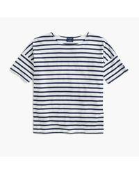 J.Crew   Black Saint James Short-sleeve Slouchy T-shirt   Lyst