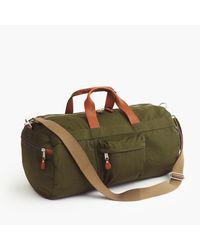 J.Crew - Green Harwick Duffel Bag for Men - Lyst
