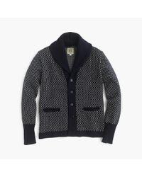 J.Crew | Blue North Sea Clothing Intrepid Cardigan Sweater for Men | Lyst