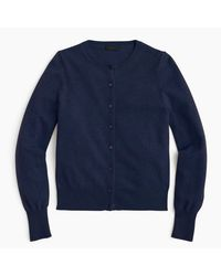 J.Crew | Blue Italian Cashmere Cardigan Sweater for Men | Lyst