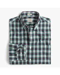 J.Crew - Blue Secret Wash Shirt In Multicolor Tartan for Men - Lyst