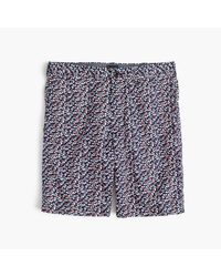 "J.Crew | Green 9"" Lightweight Cotton Short In Daisy Floral for Men 