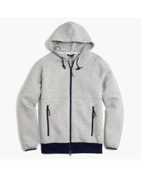 J.Crew | Gray New Balance Full-zip Hoodie for Men | Lyst
