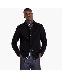 J.Crew - Black Wallace & Barnes Felted Merino Wool Deck Jacket for Men - Lyst