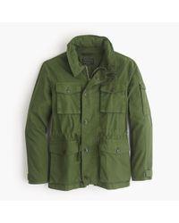 J.Crew - Green Field Mechanic Jacket for Men - Lyst