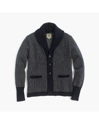J.Crew - Blue North Sea Clothing Intrepid Cardigan Sweater for Men - Lyst