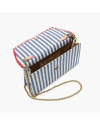 J.Crew - Multicolor Convertible Envelope Clutch In Stripe - Lyst