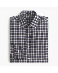J.Crew | Blue Crosby Shirt In Borland Tartan for Men | Lyst