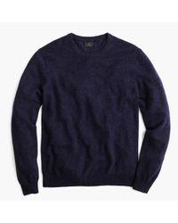 J.Crew | Blue Slim Italian Cashmere Crewneck Sweater for Men | Lyst