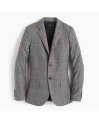J.Crew | Gray Collection Ludlow Blazer In Glen Plaid Wool for Men | Lyst