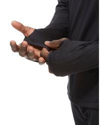 Under Armour - Black Supervent 1/4 Zip Top for Men - Lyst