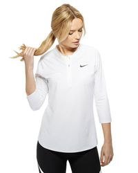 Nike - White Court Dry 3/4 Dry Pure Top - Lyst