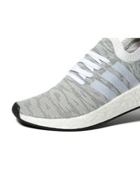 Adidas Originals - White Nmd_r2 Boost Primeknit for Men - Lyst